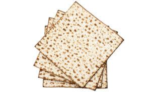 """Matzo stack, Passover celebration."""
