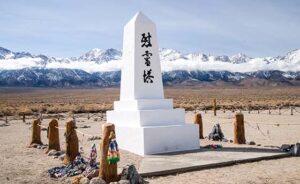 Manzanar Memorail and a Thousand Cranes