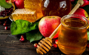 Rosh Hashanah celebration background